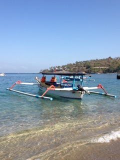 Lombok Outrigger Boat
