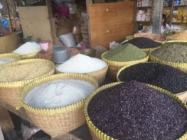 Lombok Markets Rice