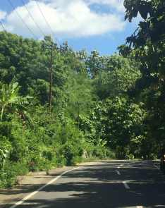 Driving in Lombok