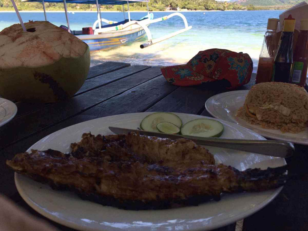 Lunch on Gille Sudak