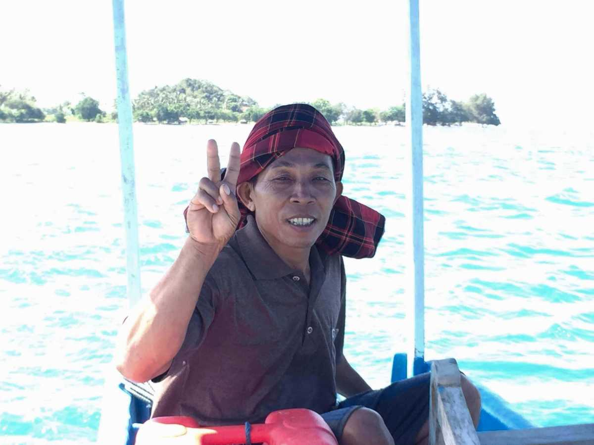Lombok Outrigger Captain