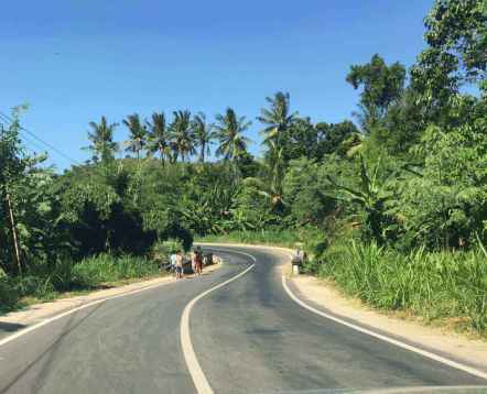 East Lombok roads