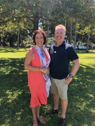 Teresa and Tom Shantz visiting Lombok